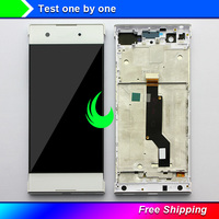 Original Display For Sony Xperia XA1 G3121 G3123 G3125 G3112 G3116 LCD Touch Screen Digitizer Assembly + Frame For SONY XA1 LCD