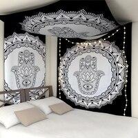 Indische Twin Hippie Mandala Wandteppich Hängen Werfen Böhmischen-Bettdecke Dekore