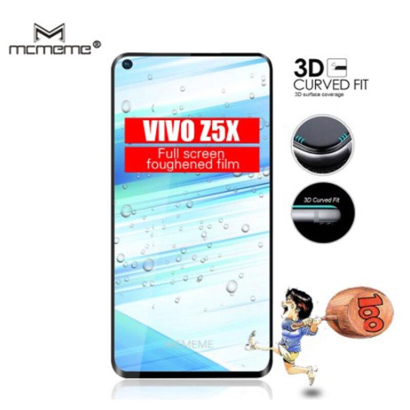 MCMEME For VIVO Z5X Z5 X Glass Tempered Z 5X VIVOZ5X Screen Protector Full Cover Film