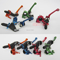 Universal Three Folding EASY-USE ALLOY CNC CLUTCH LEVER Fit CRF KLX Motorcycle Dirt Bike Motocross From TW Free Shipping