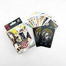 Аниме one piece Луффи Чоппер Зоро Ло все члены и Наруто покер карты творческие игрушки для детей коллекционные карты игральные карты