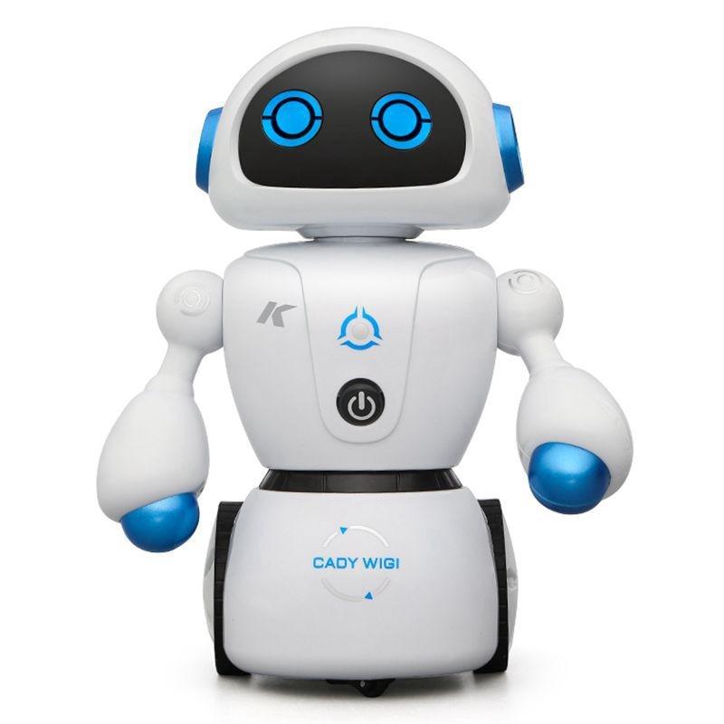 2018 Nouveau Intelligent Cady Wigi JJRC R6 télécommande Programmable Danse USB robot rc T Vader Stormtrooper jouet modèle Pour Enfants