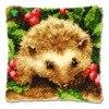 hook rug stitch pillowcase embroidery thread Latch hook rug kits cushion rug home cushion mat hook rug christmas latch hook