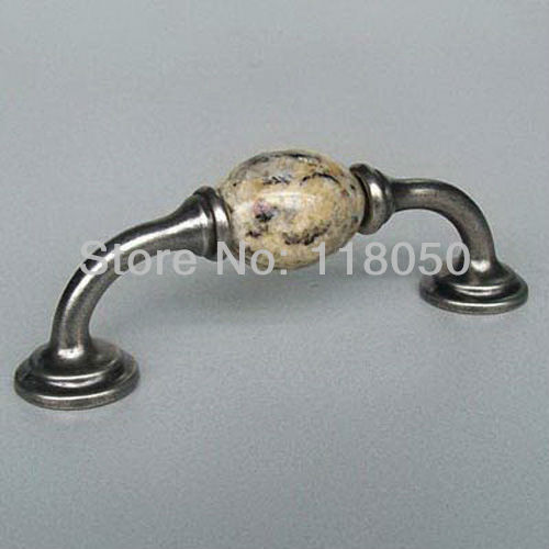 Top Sale Santa Cecilia Granite Dresser Drawer Pulls Gold