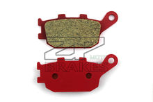 Motorcycle parts Ceramic Brake Pads Fit YAMAHA 847 MT-09/ MT-09SR 2014 Rear OEM Red Composite Free shipping
