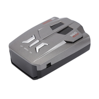 HELST V9 Car Styling Speed Laser Radar Detector Voice Alert Warning 16 Band Auto Truck Vehicle