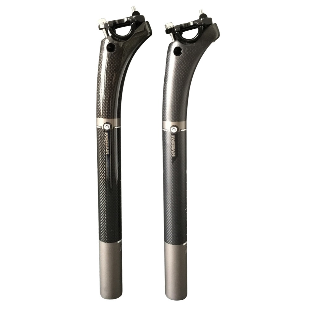 SmileTeam High Quality Full Carbon Cycling MTB/Road Bike Bicycle Seatpost , Bike carbon Seat post for 27.2mm 31.6mm in Size