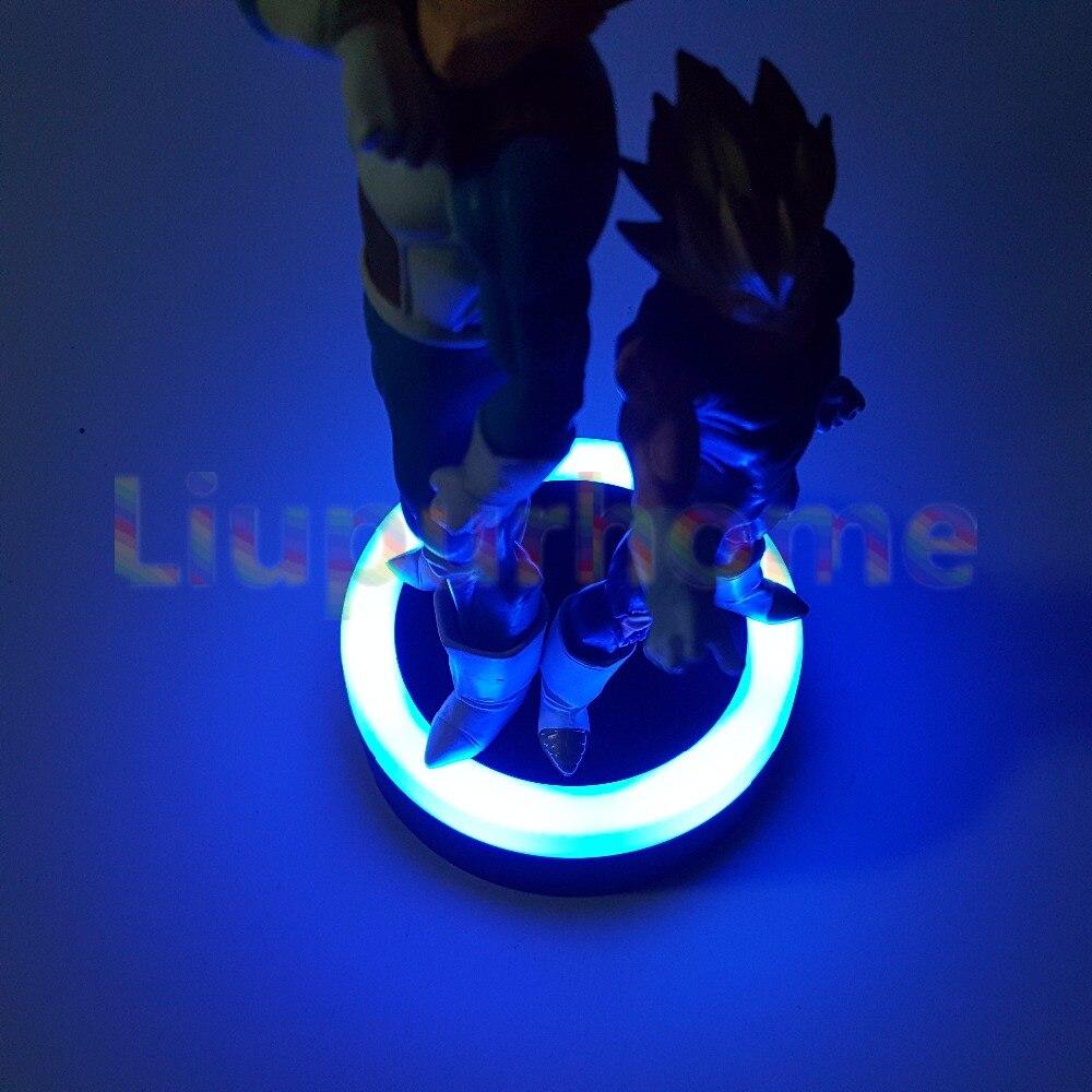 Dragon Ball Z Vegeta Set Led Night Lights Super Saiyan Diy Anime Dragon Ball Super Dbz Led Table Lamp Llampara Led Led Night Lights Lights & Lighting