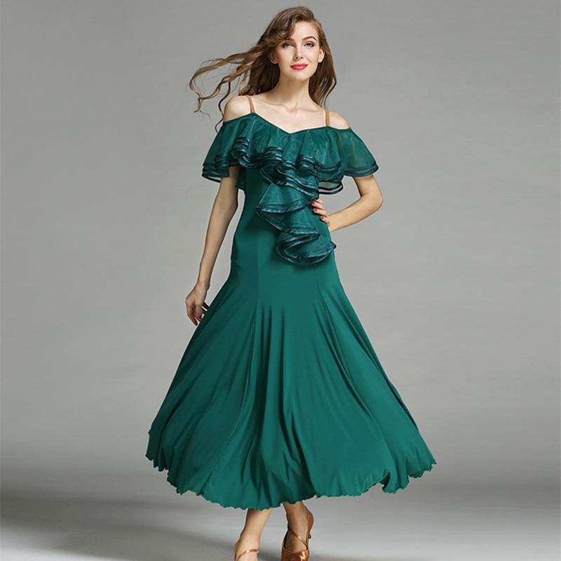 3 colors red flamenco dress spanish dance costume ballroom dance competition dresses ballroom dance dresses waltz tango black