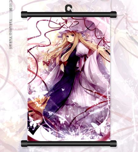 Touhou Project Yakumo Yukari Anime HD Print Poster Scroll Home Decor Cosplay