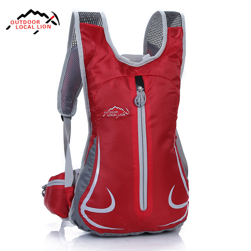 Cycling Backpack Ultralight Breathable Bicycle Backpack For Outdoor Sports Running Travelling Mountaineering Bike Rucksack 12L