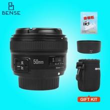 Yongnuo yn 50mm f/1.8 af lens yn50mm diyafram otomatik odaklama af gibi nikon dslr kamera için geniş diyafram-s 50mm 1.8g