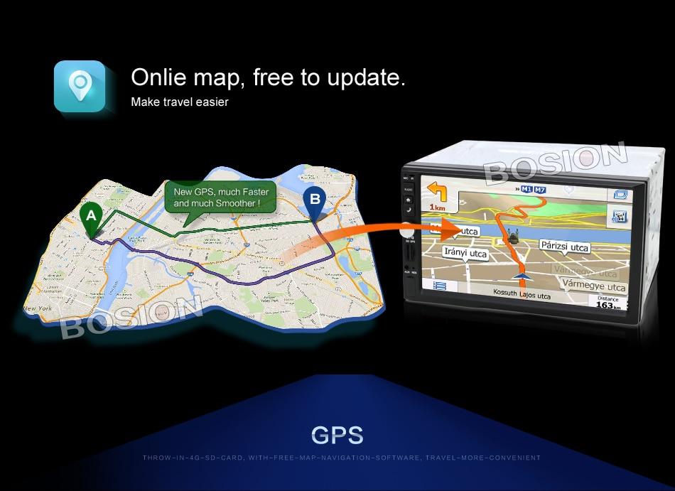 Spencers uniwersalny GPS-em Android 11