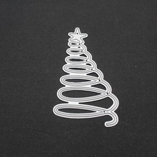 Christmas Tree Cutting Dies for Card Making