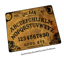 ouija board mouse pad cool pad to mouse notbook computer mousepad 2016 new gaming padmouse gamer to laptop keyboard mouse mats