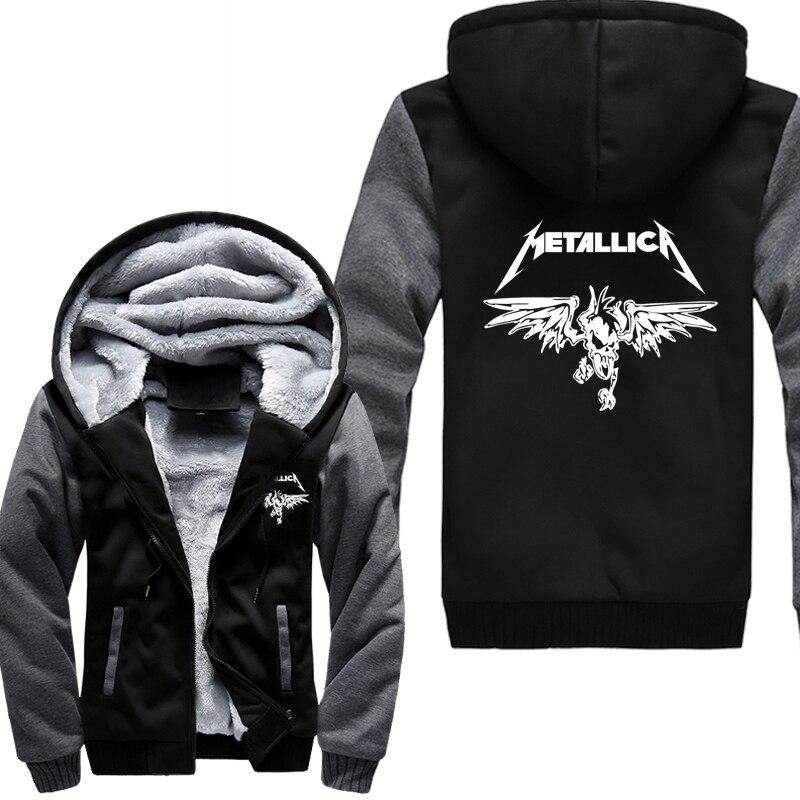 2019 winter  hoodies funny print fleece zipper jackets men harajuku fashion thicken sweatshirt hip-hop tracksuit hooded