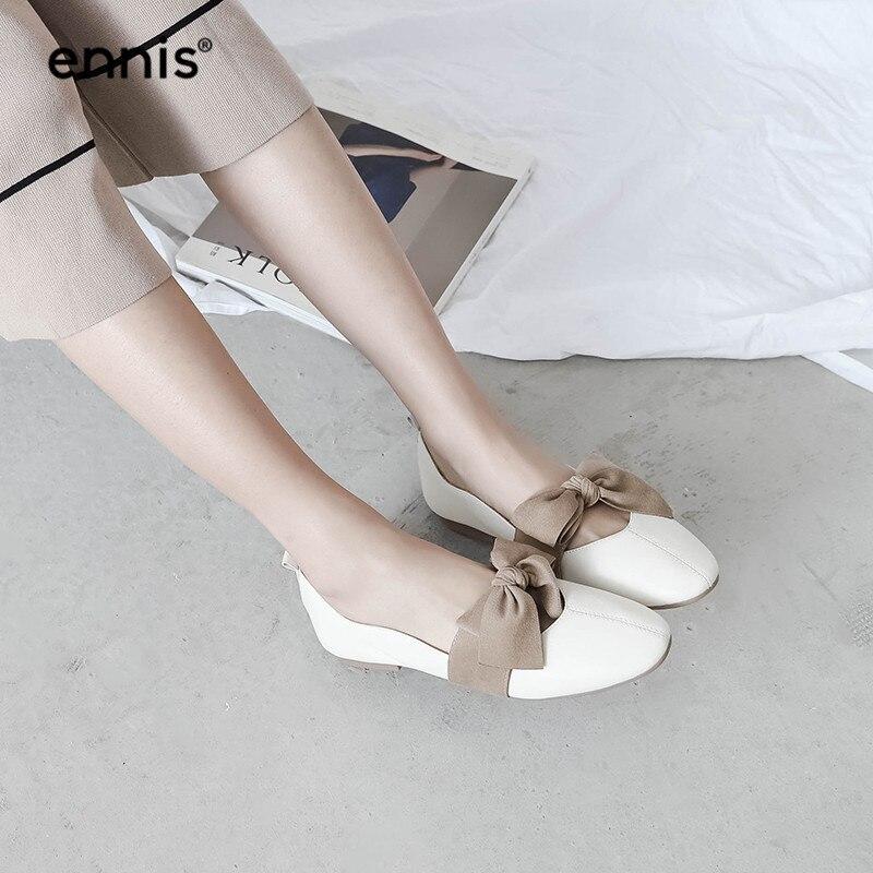 Dames Modelage Clip Bateau Plein De C953 Décontractées Chaussures brown Avec Respirant Mode Femmes Véritable Air En Papillon Nœud Cuir Vente autorisation Beige 4qz0Zz