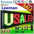 Крытый / открытый продукт рекламное оборудование P7.625 / p10 / p12 / p16 wifi беспроводной программа из светодиодов движущихся табло