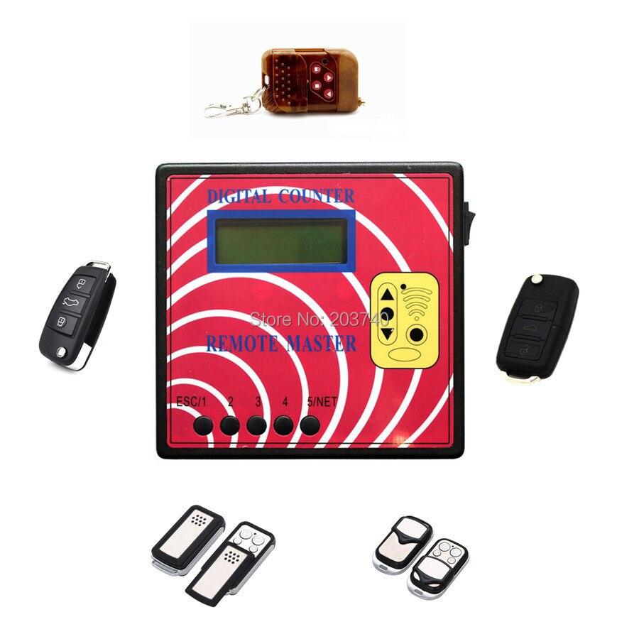 Цена за Цифровой Счетчик Remote Master Поколения Дисплей Частоты/Радио Частота Тестер С 5 шт. Фиксированный Код Клавиши (Модель A)