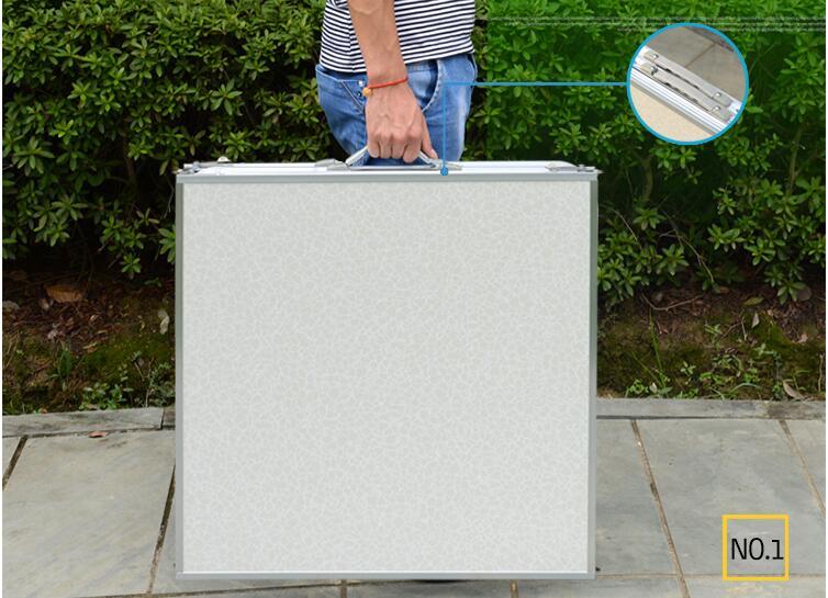180 * 60 * 70 cm alumīnija sakausējuma saliekamais galds - Mēbeles - Foto 6
