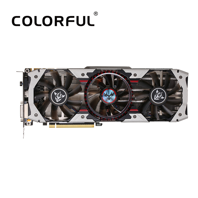 Colorful iGame NVIDIA GeForce GTX 1070Ti Vulcan AD Graphics Card 1607/1683MHz 8Gbps GDDR5 256bit SLI VR Ready With HDMI DP DVI-D
