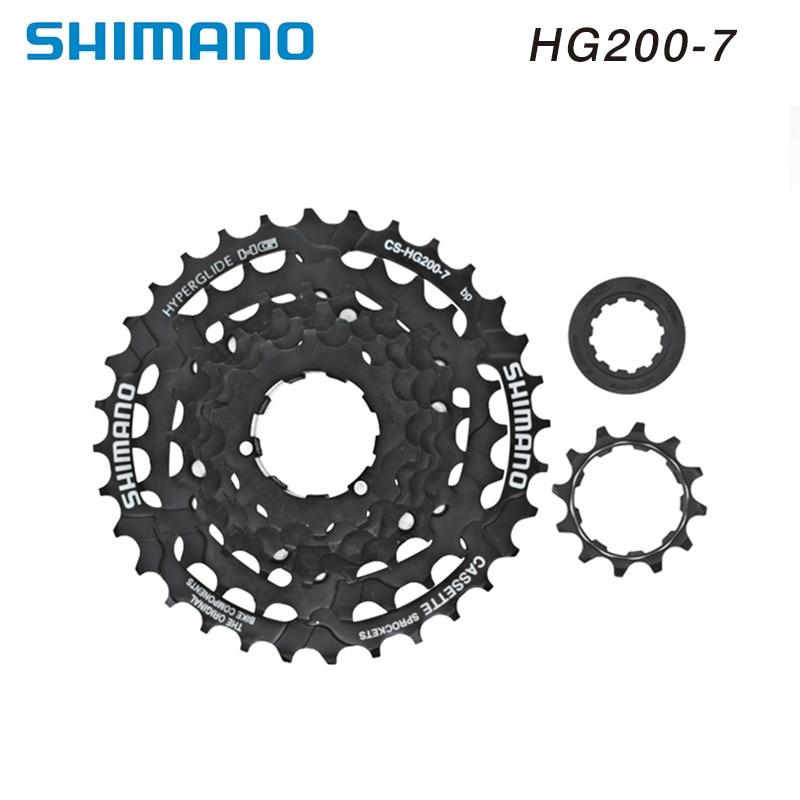 New CS-HG20-7 HyperGlide 12-32T 7-Speed Road//MTB//Hybrid Bike Cassette 12-32