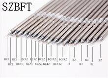 SZBFT lehim demir İpuçları havya ucu kaynak sting T12 BC1 BC2 BC3 BCF1 BCF2 BCF3 BC1Z BC2Z BC3Z BC4Z BCF1Z BCF3Z BCF4Z B