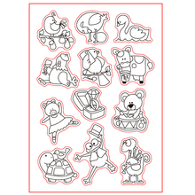 Everyday Is Christmas Transparent Clear Silicone Stamp Set for DIY Scrapbooking/Photo Album Cards Making Decorative Clear Stamp scrapbook diy photo cards vintage trip silicone stamps transparent stamp for christmas gift cc 074