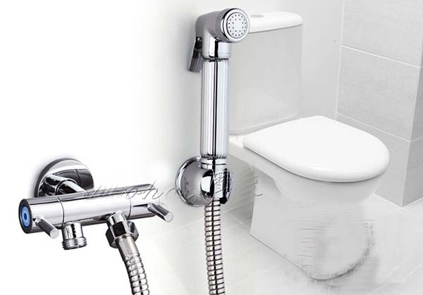 Hot Brass Toilet Shower Spray Set and 1.5m Stainless Steel Flexible ...