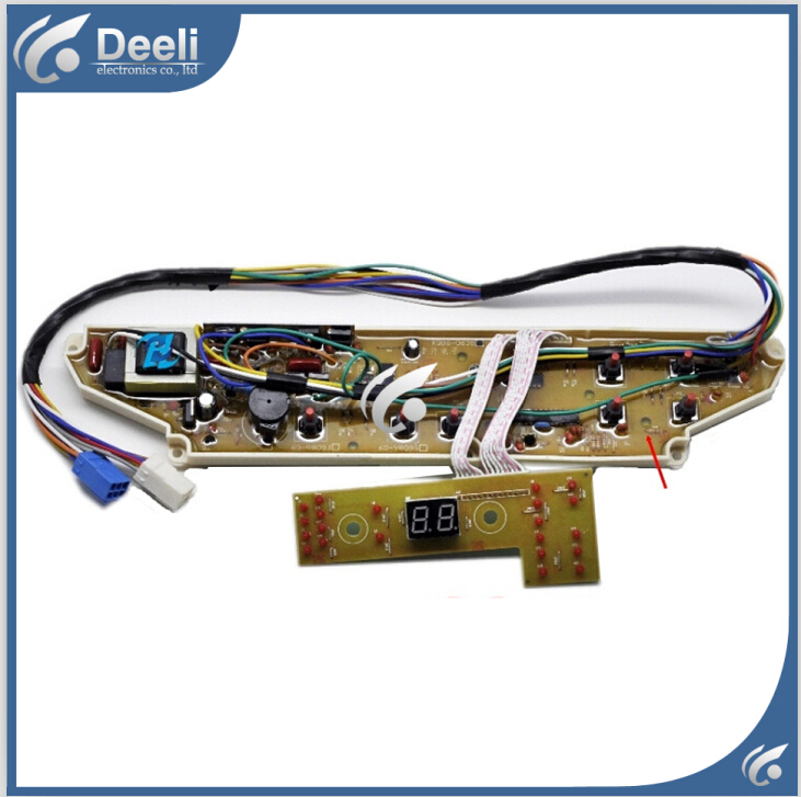 98% new Original good working for Sanyo washing machine board XQB60-M809 motherboard on sale 95% new original good working for sanyo washing machine computer board xqg75 f1129w motherboard 1set