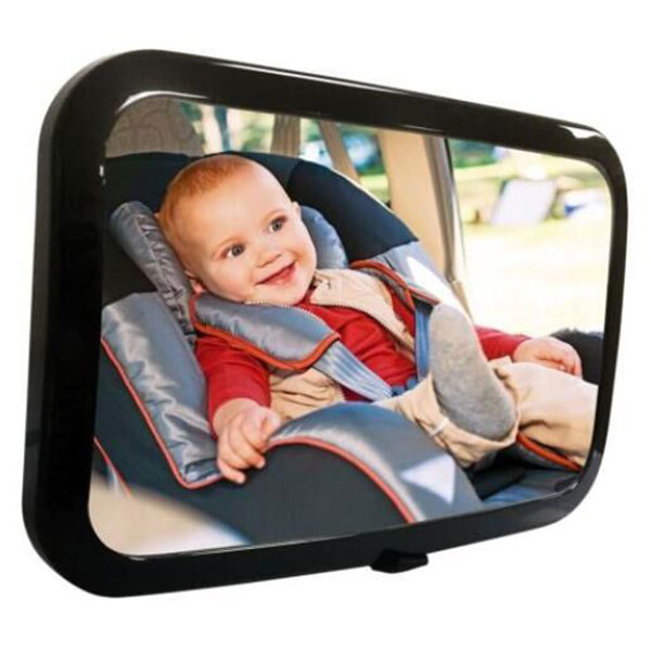 Easy Adjustable Safety Car Back Seat Mirror Baby Facing Rear Ward View Headrest Mount Square Kids Monitor Car Seat Mirror DXY ...