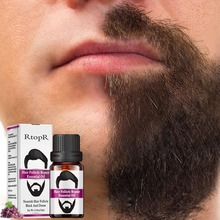 10ml Hair Growth Of Beard Body Hair Care Natural Hair Repair Oil Men Styling Mou