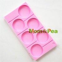 Mom & Pea 1115 Darmowa Wysyłka Lollipop Mold Food Grade Silicone mold Cake Decoration Kremówka Ciasto 3D