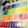 2.6mm mini hama beads 48 bags /500pcs in pack Including pegboards available 100%quality guarantee  fuse perler beads activity