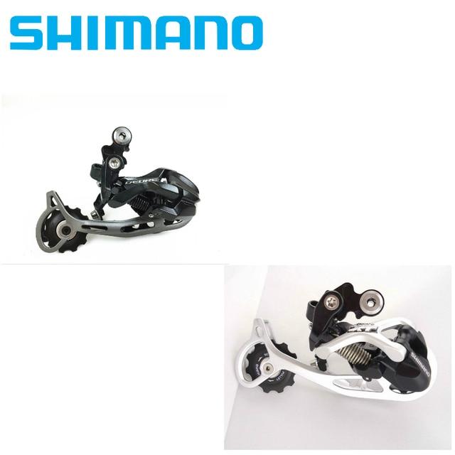 ec1440466cc Shimano DEORE XT RD-M592 M772 9 Speed bike Rear Derailleur SGS 9S long cage  leg MTB bicycle Derailleurs
