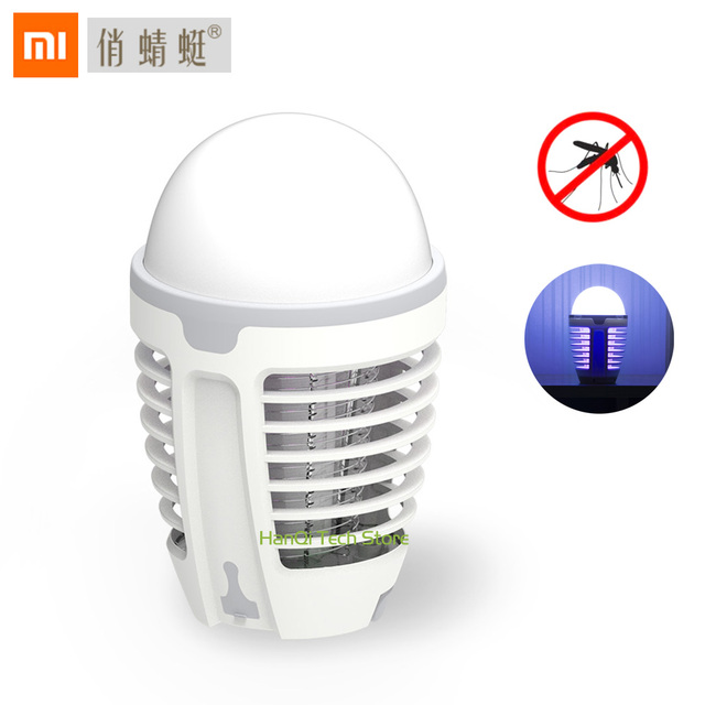 Original Xiaomi Mijia DYT-90 5W LED USB Mosquito Dispeller Repeller Killer Lamp Bulb Electric Bug Insect Zapper Pest Trap Light