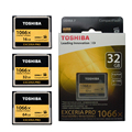 TOSHIBA Extreme Pro Memory Card 16GB 32GB 64GB CF Card Compact Flash Cards High Speed 1066x 160MB/s UDMA7 For Canon Nikon