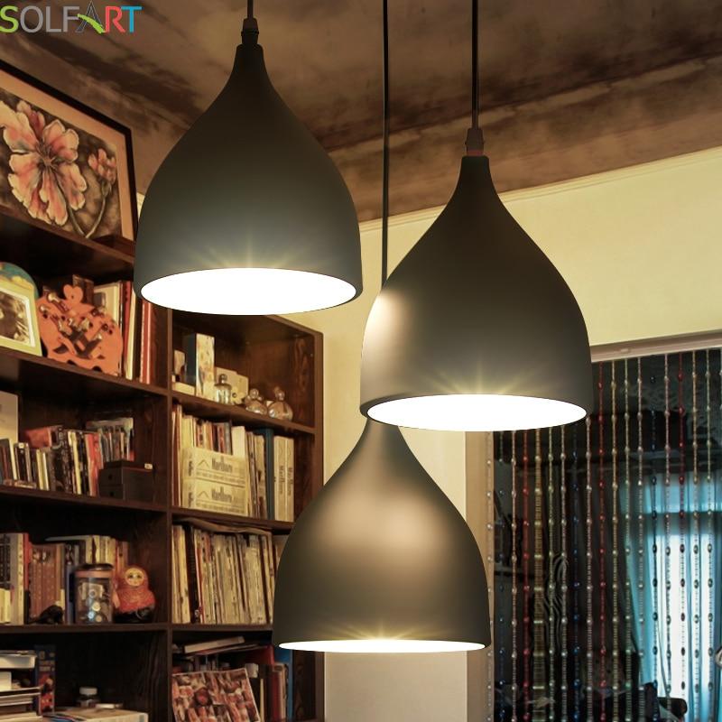 Függőlámpák E27 Lampara lámpák Kábel Medál Étkező Lustres - Beltéri világítás
