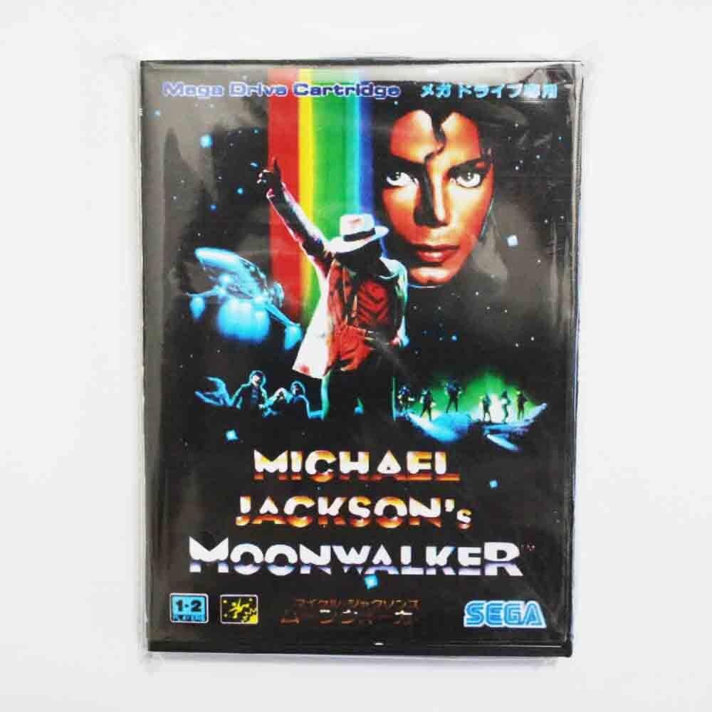 Moonwalker de Michael Jackson juego cartucho 16 bit MD tarjeta de juego con caja al por menor para Sega Mega Drive