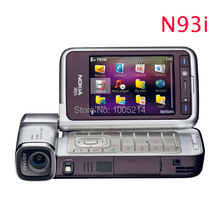 Refurbished N93i Original Unlocked Nokia N93i cell phone WIFI 3G refurbished phones Russian keyboard support Free shipping