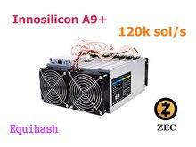 Используется Zcash Шахтер ZCL ZEC Asic горной машины Innosilicon A9 + ZMaster 120 k sol/s Equihash Шахтер лучше, чем A9 Antminer Z9 Z11
