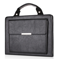 Business Briefcase Cover For Apple IPad Air 2 PU Leather Multifunction Handbag Tablet Full Protect Case