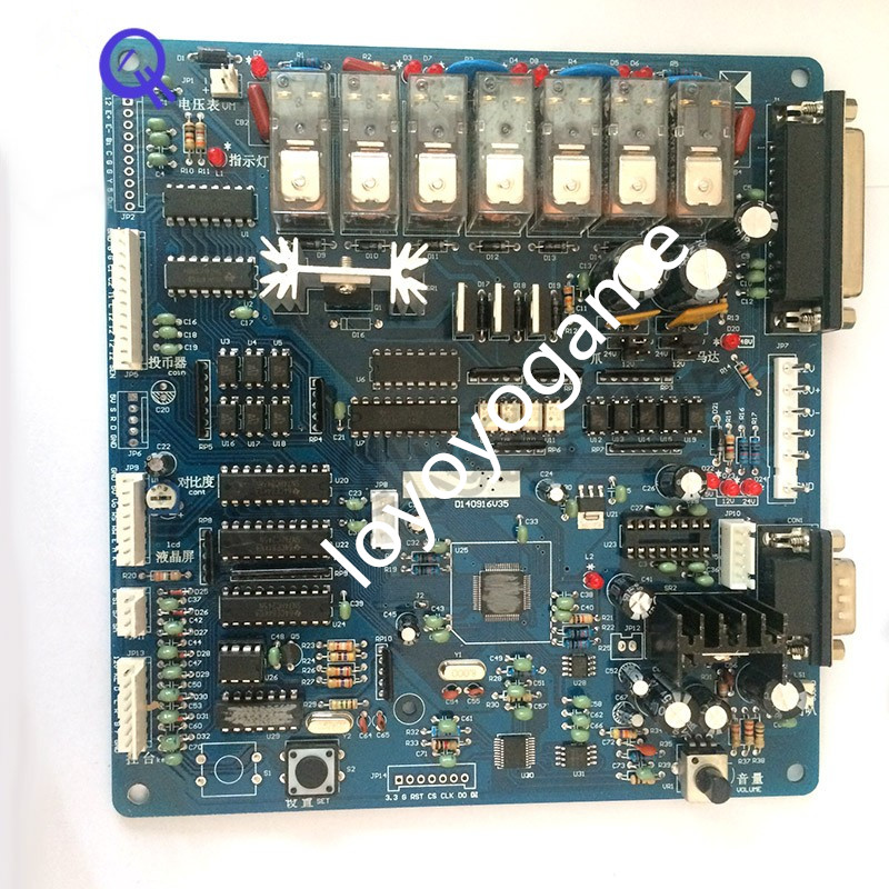 Toy/Gift Crane Machine kit,crane game PCB main board, game control board,double digital board,english Sound Board,Wire Harness z97m d3h z97 lga1150 matx all solid game board board