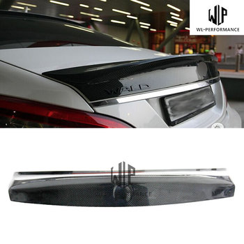 W218 High Quality Carbon Fiber Rear Spoiler Wings Car Styling For Mercedes-Benz CLS Class W218 CLS320 CLS63 Car Body Kit 2012-UP