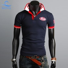 Bebling 2015 Sale Cotton Sport Men s solid polo shirt Top Quality Man s Clothing Short