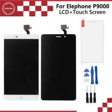 ocolor For Elephone P9000 P9000D P9000E  LCD Display +Touch Screen 5.5inch Original Assembly Perfect Repair Parts+Tools+Film