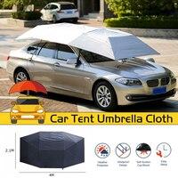 Car Umbrella Sun Shade Full Automatic Outdoor Car Vehicle Tent Umbrella Sunshade Roof Cover Waterproof Anti UV Cloth Replaceable