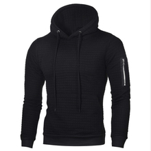 hot deal buy hurajuku style casual sleeve zipper pocket hoodies men fleece fashion mens warm hoodies sweatshirts hoody jacket jacquard  weave