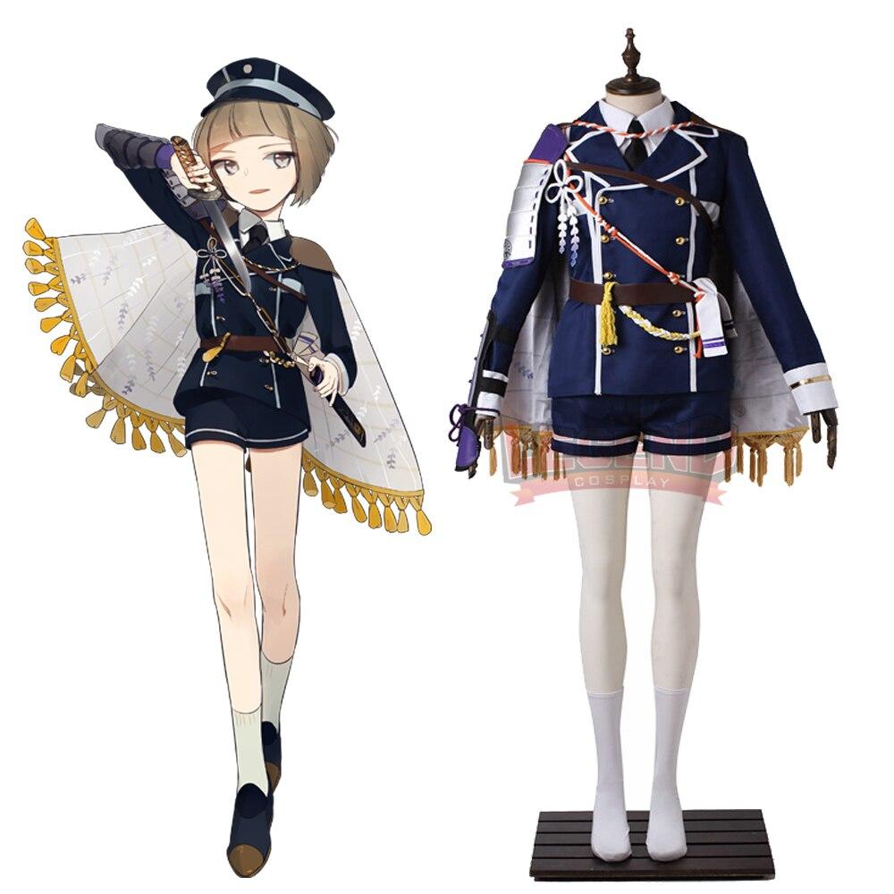 Cosplay legend  Touken Ranbu Online Maedatoushirou Cosplay adult costume full set all size custom made