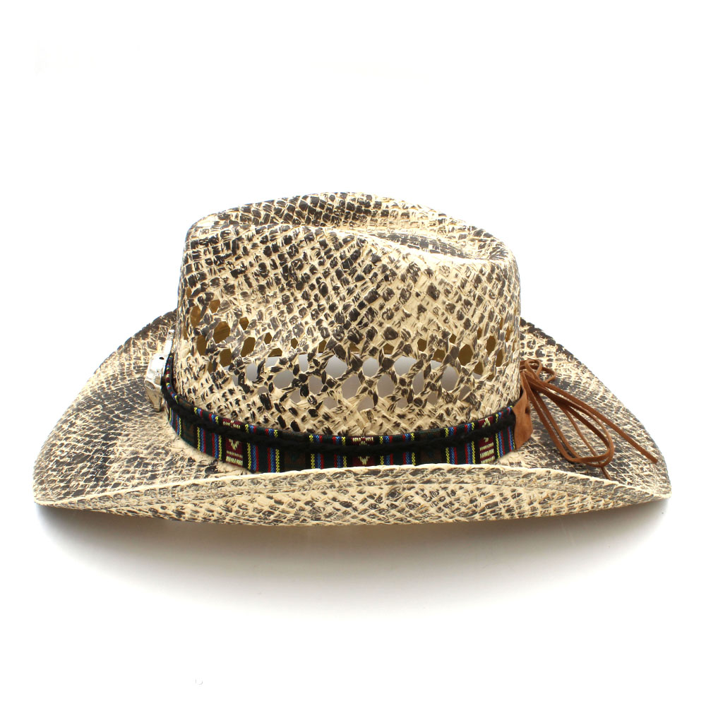 Handmade Weave Straw Cowboy Hat   1